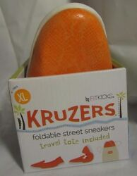 Kruzers Foldable Slip-on Street Sneakers w Full Rubber Sole XL Shoes Fitkicks $17.00