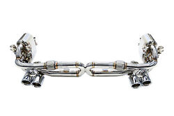 IPE Cat-back System for Porsche 991 Carrera  S  4S F1 Edition