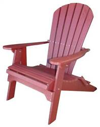 Phat Tommy Recycled Poly Resin Folding Adirondack Chair [ID 37442]