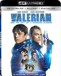 VALERIAN AND THE CITY OF A THOUSAND P NEW 4K ULTRA HD BLU-RAY