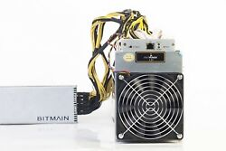 * IN HAND * Bitmain Antminer L3+ 504 MHs Scrypt Miner! w APW3++PSU* USA SELLER