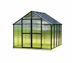 4 ft. x 6 ft. Greenhouse Additional Door Kit in Black Home Grow Garden Outdoor