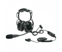 ARC T26045 Heavy Duty Earmuff Headset for Motorola XTS MTX PR HT JT MT Radios