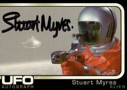 UFO Stuart Myers as Alien Autograph Card