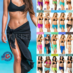Coqueta Swimwear Bikini Mesh Cover Up Pareo Swimsuit beach SEXY wrap hot Sarong $12.99