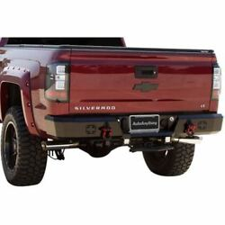 Iron Cross 21-525-15-MB HD Rear Bumper Matte Black For 15-18 Silverado 25003500