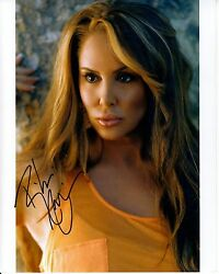 ROBIN ARCURI hand-signed SEXY SULTRY EXOTIC 8x10 color closeup w UACC RD COA