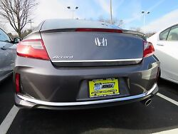 REAR TRUNK LID CHROME ACCENT TRIM STRIP FITS 2013 2017 HONDA ACCORD 2 DOOR COUPE $15.99