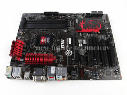 MSI Intel B85 Motherboard B85 G43 GAMING LGA 1150 DDR3 DVI HDMI USB 3.0 ATX $67.99