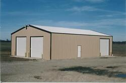 Steel Building 24x24x12 SIMPSON garage storage shop metal building