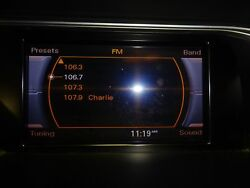 OEM INFORMATION DISPLAY 2011 AUDI A4 CONCERT AUDIO SYSTEM (8UQ) (SCREEN ONLY)