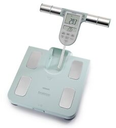 OMRON BF 511 Body composition scale Fat Meter Memory Family White New Original C $279.00