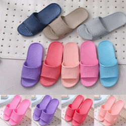 Womens Home Floor Slippers Shoes Sandals Flats Indoor Shower Summer Sliders Size $3.99