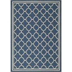 Hawthorne Collections Navy Indoor Outdoor Rug - 9' x 12'