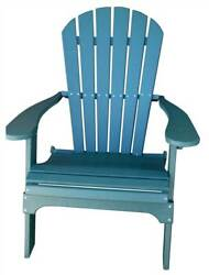 Phat Tommy Recycled Poly Resin Folding Adirondack Chair [ID 37443]