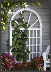 Vienna Vinyl Trellis Sturdy and Attractive For Training Climbing Plant Sturdy