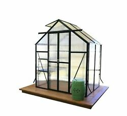 Heavy-Duty Aluminum Greenhouse Kit with Base Home Planter Portable Greenhouse