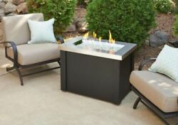 Outdoor GreatRoom Company Providence Fire Pit Table Stainless Steel Burner Patio