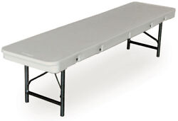 McCourt Manufacturing Commercialite Plastic Folding Bench Set of 5