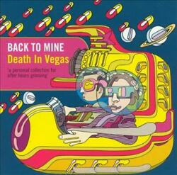 DEATH IN VEGAS BACK TO MINE DEATH IN VEGAS NEW CD $23.92