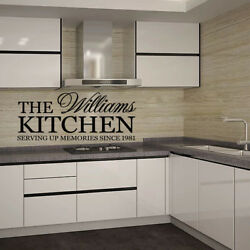 Vinyl Kitchen Rules Room Decor Art Quote Wall Decal Stickers Removable Mural DIY $7.14