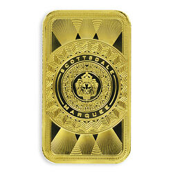 SPECIAL PRICE 1 oz .9999 Gold Bar Scottsdale Marquee in Certi Lock #A453 $2003.11