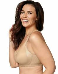 Playtex 18 Hour Seamless Wirefree Bra Back Side Smoothing TruSUPPORT Cool Dri $16.74