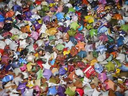 Handmade Lucky Paper Star Assorted Colors Finished Product 500 pcs. $20.00