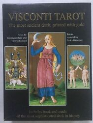 The Visconti Tarot Kit Lo Scarabeo book and cards boxed set $105.00