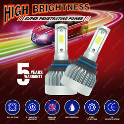 2020 New CREE LED Headlight 9006 HB4 9012 6000K 1855W 278250LM Bulbs One Pair US $7.93