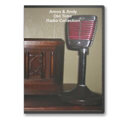 Amos N' Andy Situation Comedy Duo Old Time Radio OTR 366 Shows on MP3 DVD - A215