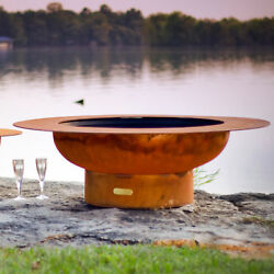 Fire Pit Art Magnum Steel Fire Pit Table
