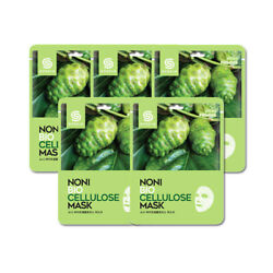 [G9SKIN] Noni Bio Cellulose Mask 25g 5pcs - BEST Korea Cosmetic