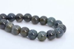 5-6MM Genuine Natural Iolite Beads South Africa Grade A Round Loose Beads 7.5