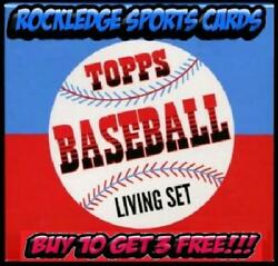 2018 2019 TOPPS LIVING SET SINGLES #1 241 PICK YOUR CARDS BUY 10 GET 3 FREE* $5.95