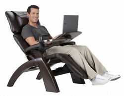 Human Touch PC-610 Omni-Motion Zero Gravity Perfect Chair Recliner + Laptop Desk