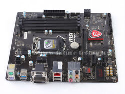 MSI Intel B85 Express Motherboard B85M NIGHT ELF LGA 1150 DDR3 mATX DVI USB3.0 $49.99