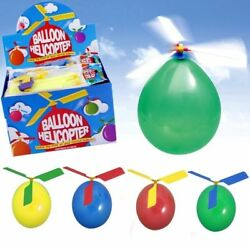 Kids Balloon Helicopter Outdoor Summer Games Fun Children Party Bag Fillers GBP 20.50