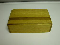 5 Specialty wooden jewelry trinket boxes artist designs exotic woods. Nice Gift