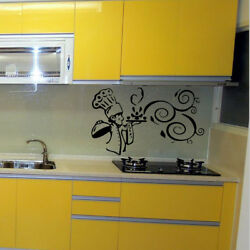 Vinyl Kitchen Rules Room Decor Art Quote Wall Decal Stickers Removable Mural DIY $6.90