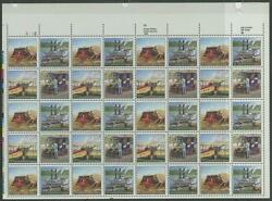 #2434-7b 20¢ UPC SHEET WITH BLUE COLOR OMITTED MAJOR ERROR CV $7500 WLM6699