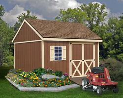 Best Barns Mansfield 12 ft. W x 12 ft. D Solid Wood Storage Shed