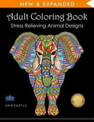 Adult Coloring Book : Stress Relieving Animal Designs $4.09