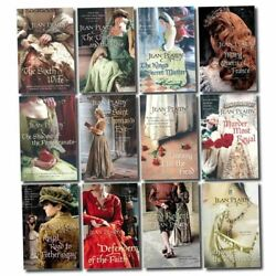 Jean Plaidy Tudor Saga Series Collection 12 Books Set Pack Mary Queen of France