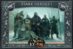 A Song of Ice and Fire Miniature Game Stark Heroes #1 NIB $28.00