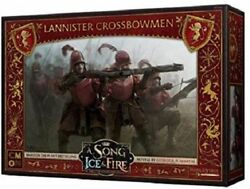 A Song of Ice and Fire Miniature Game Lannister Crossbowmen NIB $28.00