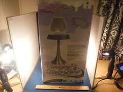 RARE NEW THE AMAZING HOVER LAMP IVORY amp; SILVER COLORED NIB $98.88