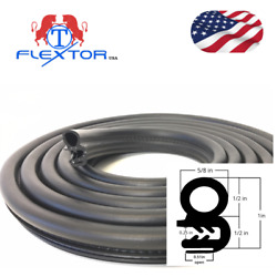 14 feet Rubber Car Door Seal Weatherstrip Body Mounted Front Left or Right $23.50