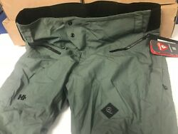 NEW MENS FITTED WATERPROOF HELLY HANSEN CROSS SKI SNOW PANTS SZ XXL RETAIL $400 $100.00