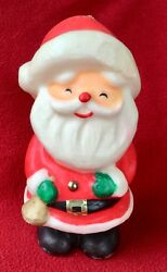 Vintage Novelty Large Christmas Decorative Santa Claus Candle Unused Taper $7.99